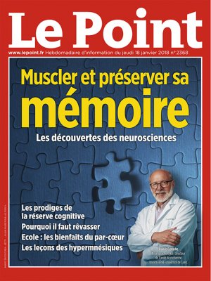 Couverture du Point N° 2368 du 18 janvier 2018