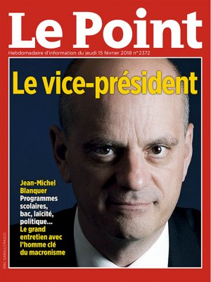 Couverture du Point N° 2372 du 15 février 2018