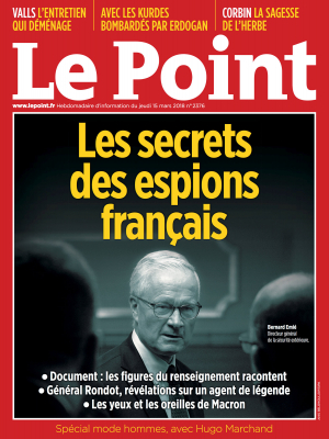 Couverture du Point N° 2376 du 15 mars 2018