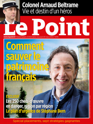 Couverture du Point N° 2378 du 29 mars 2018
