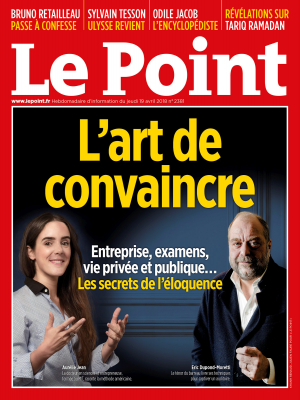 Couverture du Point N° 2381 du 19 avril 2018