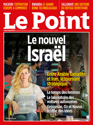 Couverture du Point N° 2382 du 26 avril 2018