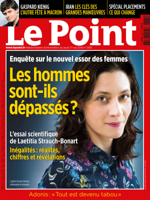 Couverture du Point N° 2385 du 17 mai 2018