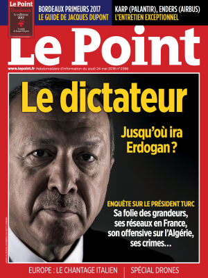 Couverture du Point N° 2386 du 24 mai 2018