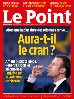 Couverture du Point N° 2389 du 14 juin 2018