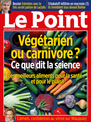 Couverture du Point N° 2393 du 12 juillet 2018