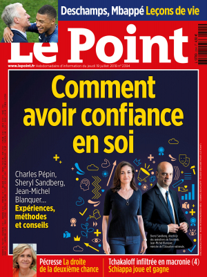 Couverture du Point N° 2394 du 19 juillet 2018