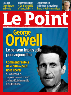 Couverture du Point N° 2398 du 15 août 2018