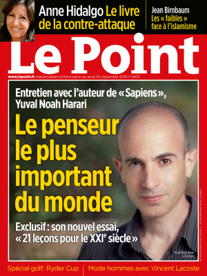 Couverture du Point N° 2403 du 20 septembre 2018