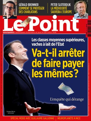 Couverture du Point N° 2428 du 14 mars 2019