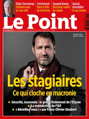 Couverture du Point N° 2429 du 21 mars 2019