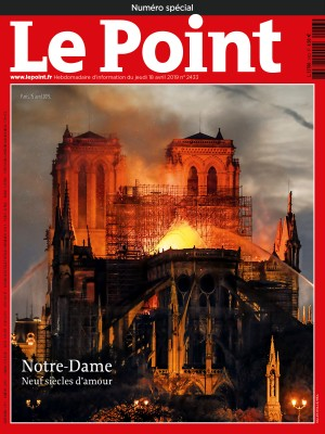 Couverture du Point N° 2433 du 18 avril 2019