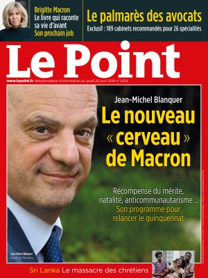 Couverture du Point N° 2434 du 25 avril 2019