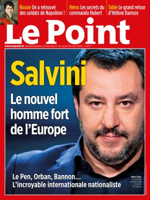 Couverture du Point N° 2437 du 16 mai 2019
