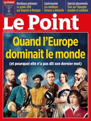 Couverture du Point N° 2438 du 23 mai 2019