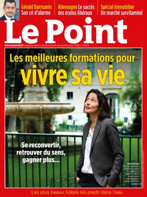 Couverture du Point N° 2440 du 06 juin 2019