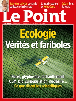 Couverture du Point N° 2441 du 13 juin 2019
