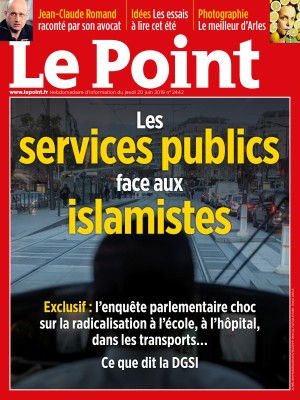 Couverture du Point N° 2442 du 20 juin 2019