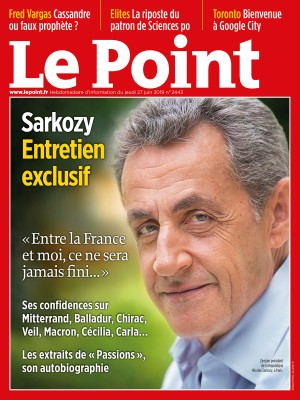 Couverture du Point N° 2443 du 27 juin 2019