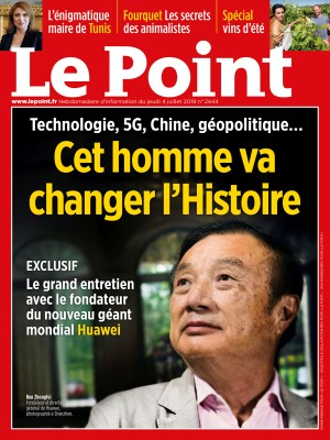 Couverture du Point N° 2444 du 04 juillet 2019