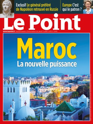 Couverture du Point N° 2445 du 11 juillet 2019