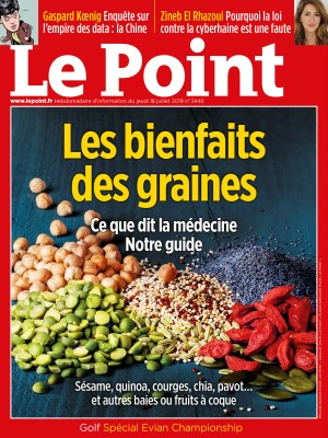 Couverture du Point N° 2446 du 18 juillet 2019