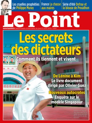 Couverture du Point N° 2450 du 15 août 2019