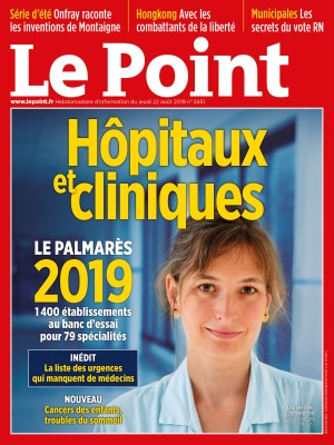 Couverture du Point N° 2451 du 22 août 2019