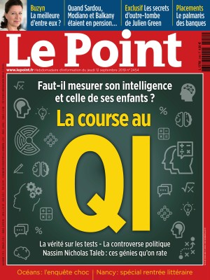 Couverture du Point N° 2454 du 12 septembre 2019