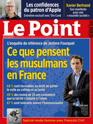Couverture du Point N° 2455 du 19 septembre 2019