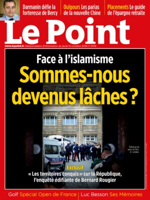 Couverture du Point N° 2459 du 10 octobre 2019