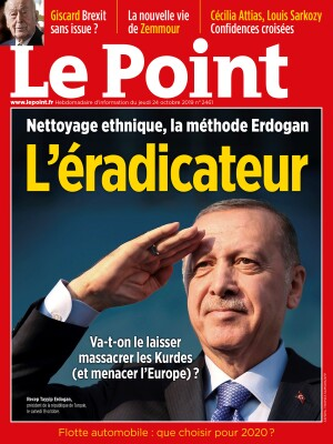 Couverture du Point N° 2461 du 24 octobre 2019