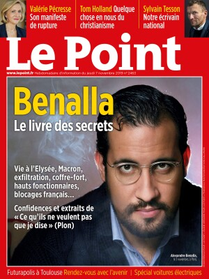 Couverture du Point N° 2463 du 07 novembre 2019