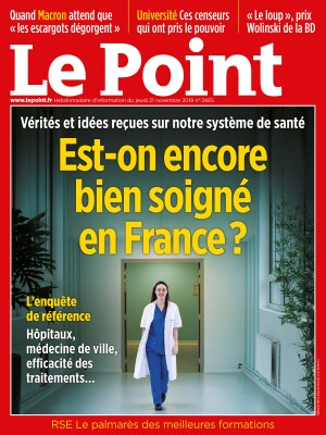 Couverture du Point N° 2465 du 21 novembre 2019