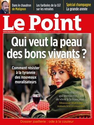 Couverture du Point N° 2467 du 05 décembre 2019