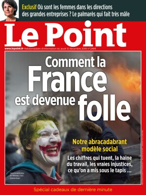 Couverture du Point N° 2468 du 12 décembre 2019