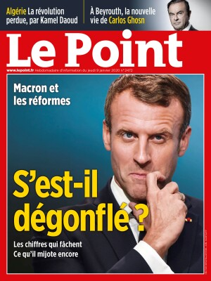 Couverture du Point N° 2472 du 09 janvier 2020