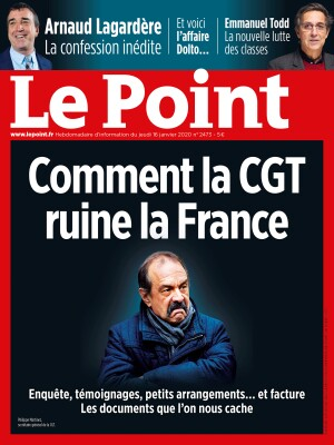 Couverture du Point N° 2473 du 16 janvier 2020