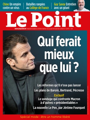 Couverture du Point N° 2475 du 30 janvier 2020