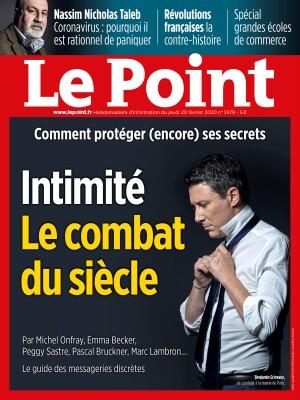 Couverture du Point N° 2478 du 20 février 2020