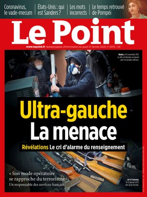Couverture du Point N° 2479 du 27 février 2020