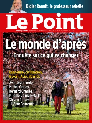 Couverture du Point N° 2483 du 26 mars 2020