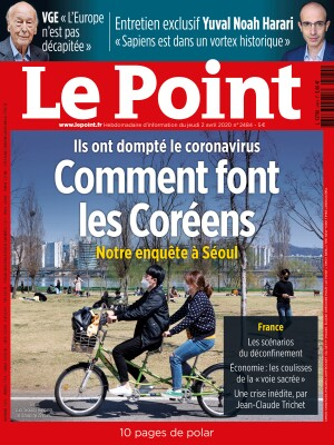 Couverture du Point N° 2484 du 02 avril 2020