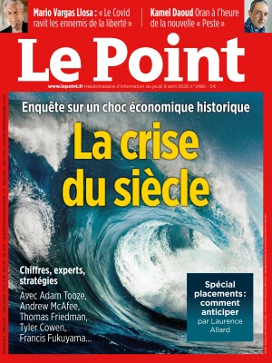 Couverture du Point N° 2485 du 09 avril 2020