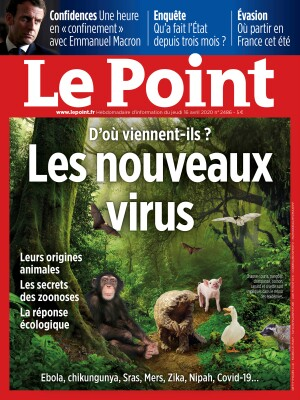 Couverture du Point N° 2486 du 16 avril 2020