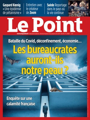 Couverture du Point N° 2487 du 23 avril 2020