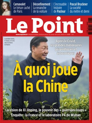 Couverture du Point N° 2488 du 30 avril 2020