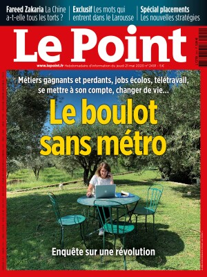 Couverture du Point N° 2491 du 20 mai 2020