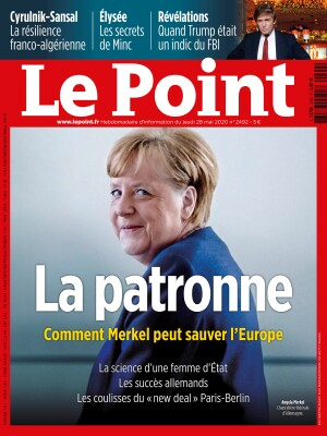 Couverture du Point N° 2492 du 28 mai 2020