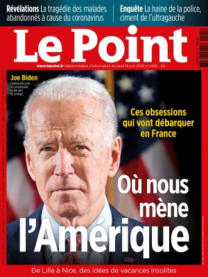 Couverture du Point N° 2495 du 18 juin 2020